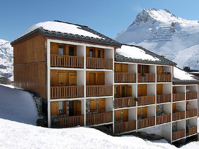 Holiday in mountain resort 2 room apartment 4 people (3) - La Divaria - Tignes - Winter outside