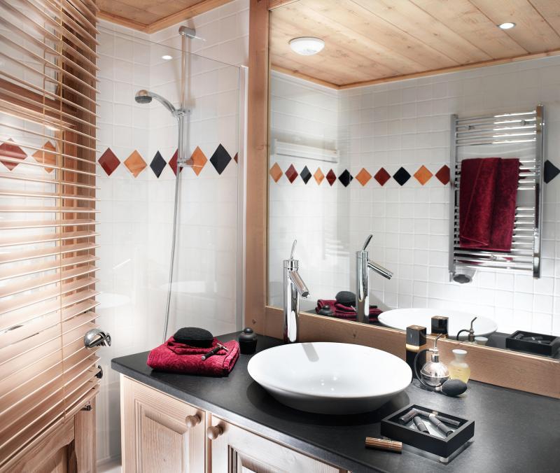 Skiverleih La Ferme du Val Claret - Tignes - Badezimmer