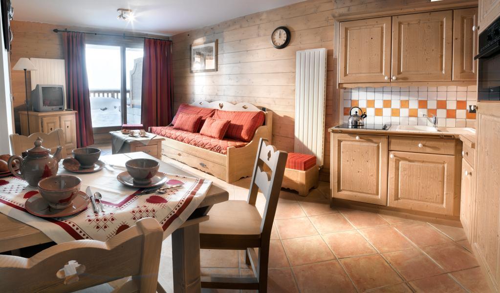 Skiverleih La Ferme du Val Claret - Tignes - Wohnzimmer