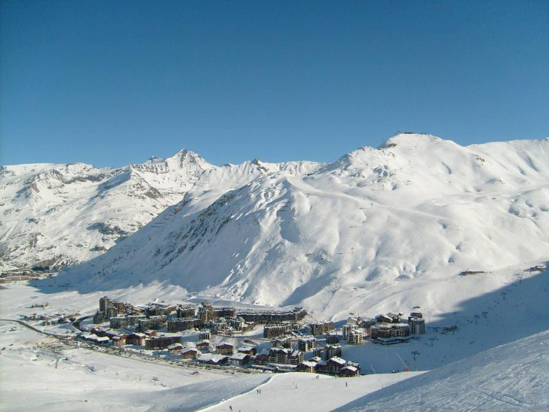 Location au ski La résidence Borsat - Tignes - Extérieur hiver