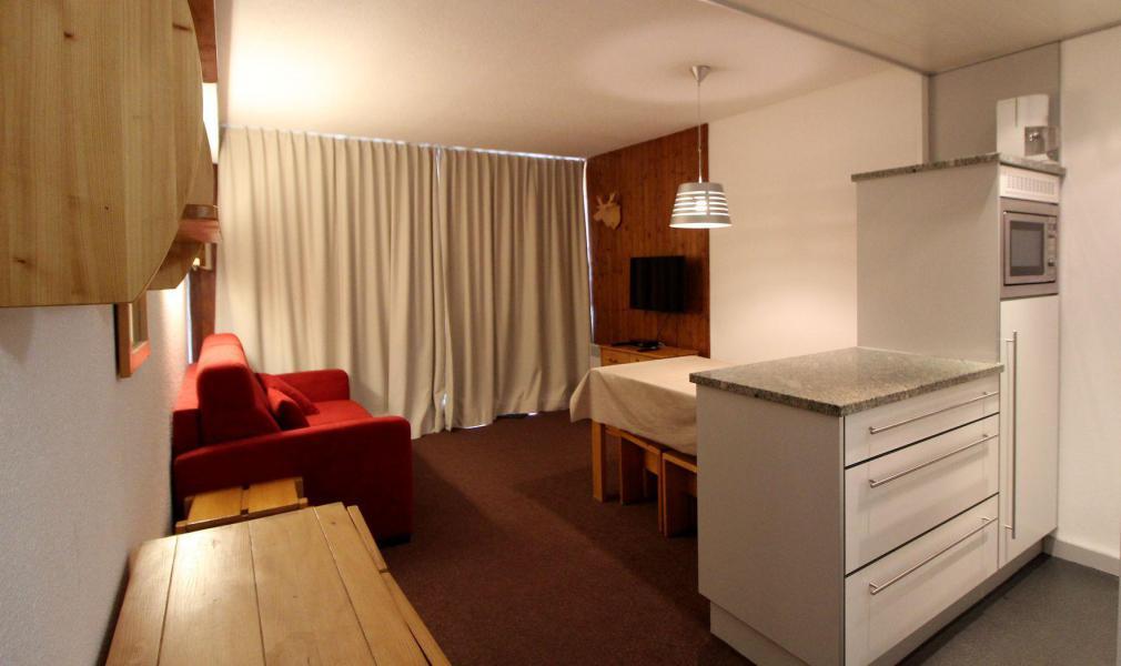 Location au ski Studio coin montagne 4 personnes (14CL) - La résidence Borsat - Tignes - Lits superposés