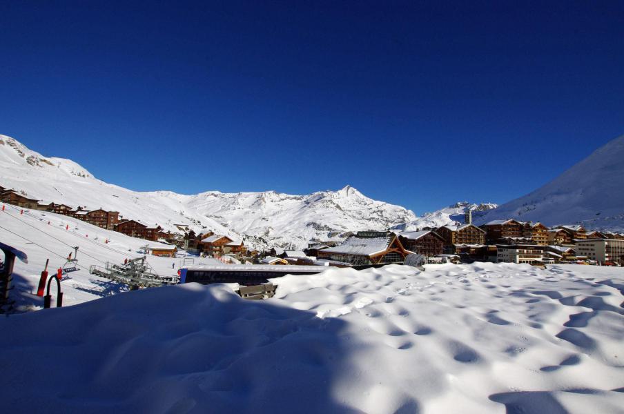 Skiverleih Studio Kabine für 5 Personen (210CL) - La résidence le Palafour - Tignes - Draußen im Winter
