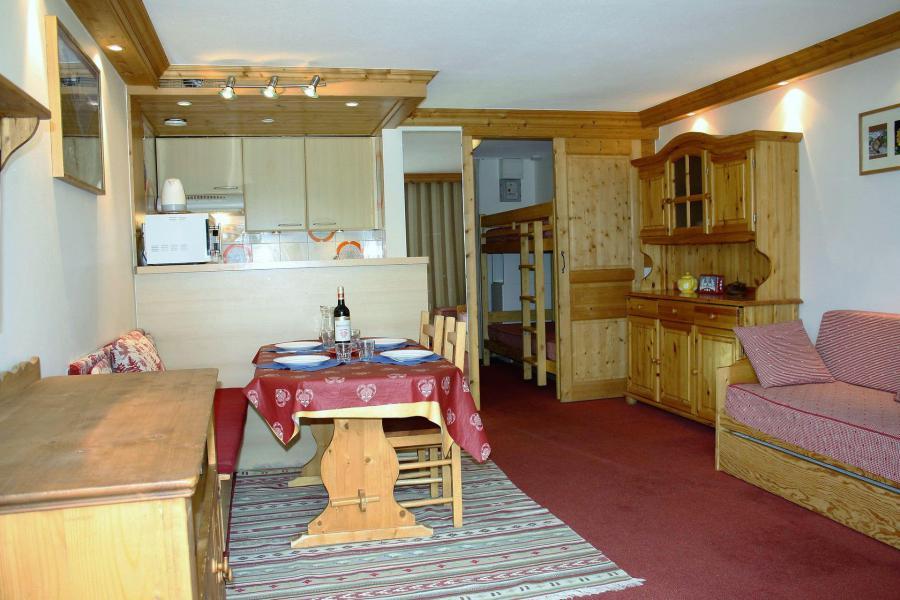 Location au ski Studio coin montagne 4 personnes (807CL) - La résidence le Palafour - Tignes - Séjour