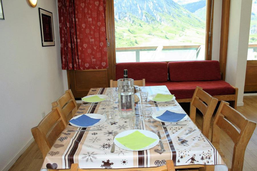 Skiverleih 2-Zimmer-Appartment für 4 Personen (21CL) - La résidence le Shamrock - Tignes - Tisch