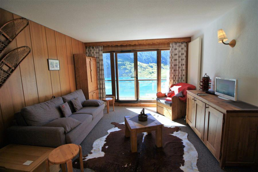 Location au ski Studio 4 personnes (23CL) - La résidence les Cimes - Tignes - Séjour
