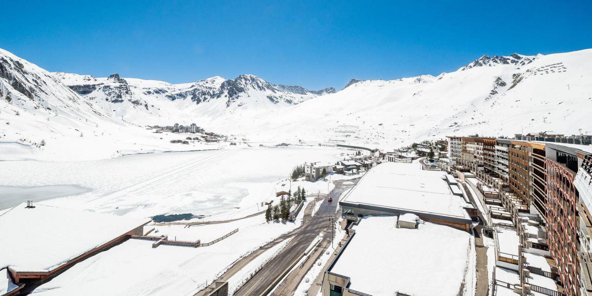 Skiverleih La résidence les Ducs de Savoie - Tignes - Draußen im Winter