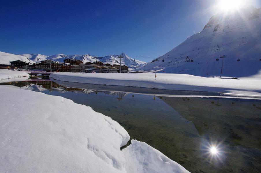 Wakacje w górach La Résidence les Hauts Lieux - Tignes - Zima na zewnątrz