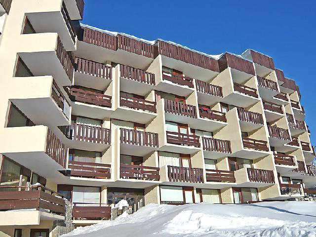 Holiday in mountain resort Studio 3 people (1) - Le 2100 A et B - Tignes - Winter outside