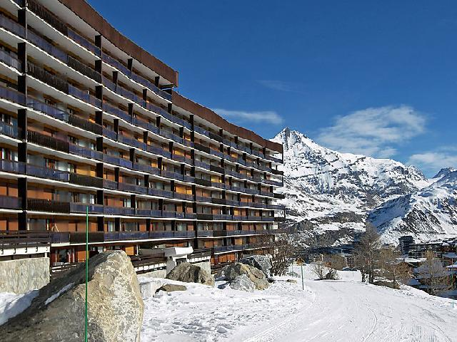 Holiday in mountain resort 3 room apartment 8 people (2) - Le Bec Rouge - Tignes - Winter outside