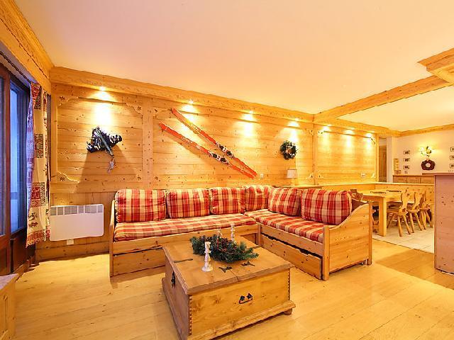 Location au ski Appartement 3 pièces 8 personnes (2) - Le Bec Rouge - Tignes - Canapé