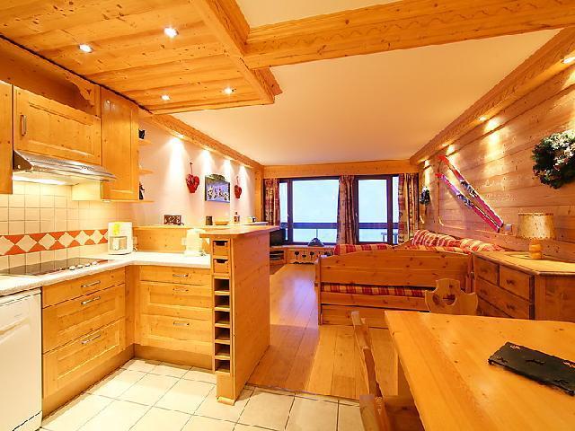 Location au ski Appartement 3 pièces 8 personnes (2) - Le Bec Rouge - Tignes - Salle à manger