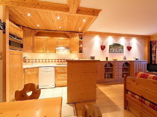Location au ski Appartement 3 pièces 8 personnes (2) - Le Bec Rouge - Tignes - Séjour