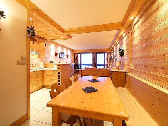 Location au ski Appartement 3 pièces 8 personnes (2) - Le Bec Rouge - Tignes - Table