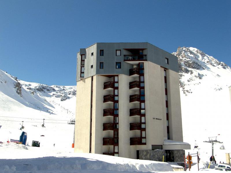 Holiday in mountain resort Le Borsat - Tignes - Winter outside