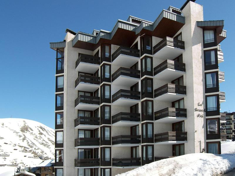 Holiday in mountain resort 1 room apartment 3 people (5) - Le Grand Pré - Tignes - Winter outside