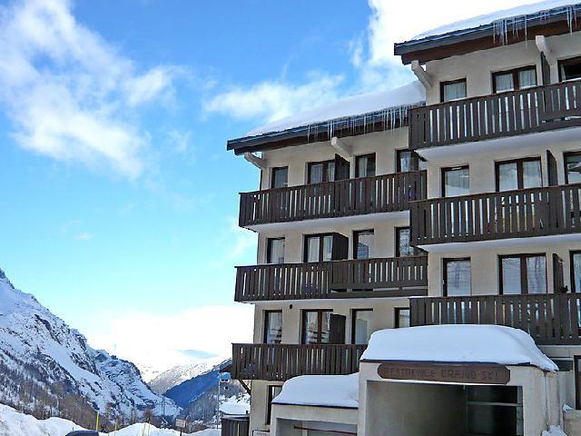 Holiday in mountain resort Studio sleeping corner 4 people (9) - Le Grand Ski - Tignes - Winter outside