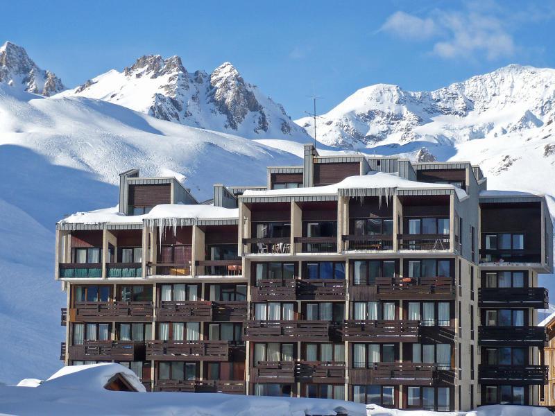 Vakantie in de bergen Appartement 2 kamers 6 personen (2) - Le Grand Tichot A et B - Tignes - Buiten winter
