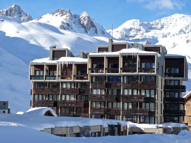 Location au ski Le Grand Tichot A et B - Tignes - Extérieur hiver