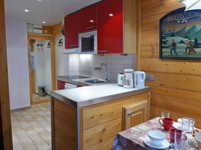 Location au ski Appartement 1 pièces 4 personnes (8) - Le Grand Tichot A et B - Tignes - Appartement