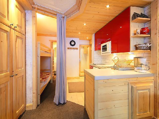 Location au ski Appartement 1 pièces 4 personnes (5) - Le Pramecou - Tignes - Appartement