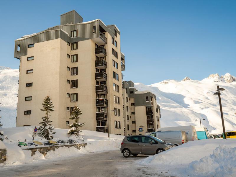 Wakacje w górach Le Schuss - Tignes - Zima na zewnątrz