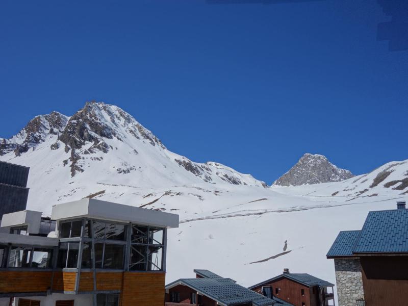 Wakacje w górach Apartament 1 pokojowy 2 osób (3) - Les Genepis - Tignes - Zima na zewnątrz
