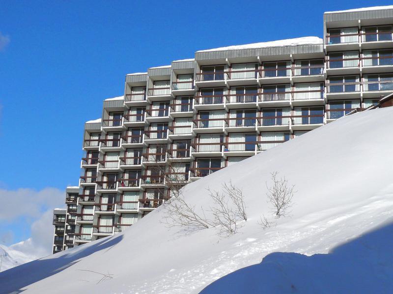 Vakantie in de bergen Les Grandes Platières I et II - Tignes - Buiten winter