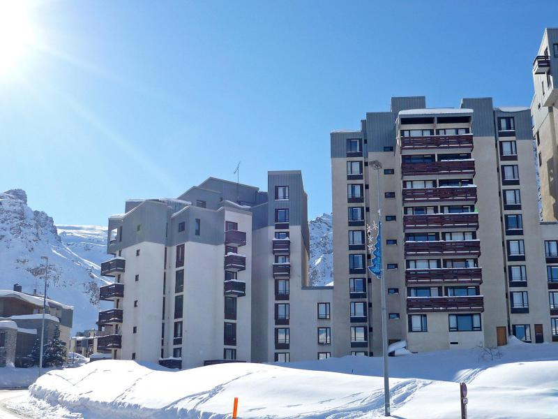 Holiday in mountain resort Les Moutières B1 et B2 - Tignes - Winter outside