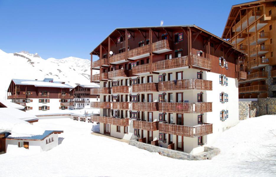 Location au ski Les Residences Du Val Claret - Tignes - Extérieur hiver
