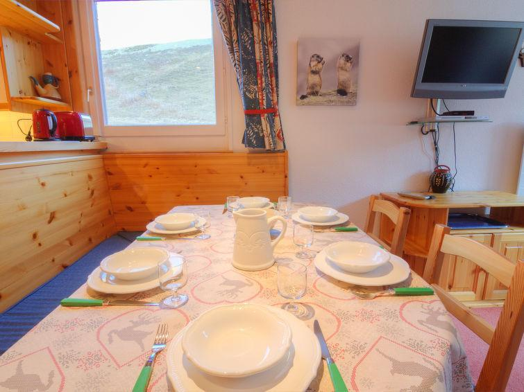 Rent in ski resort 3 room apartment 6 people (30) - Les Tommeuses - Tignes - Apartment