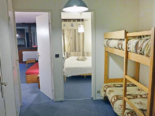 Location au ski Appartement 2 pièces 6 personnes (9) - Les Tommeuses - Tignes - Lits superposés