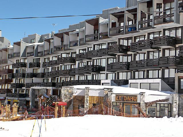 Vakantie in de bergen Appartement 1 kamers 4 personen (1) - Neige d'Or - Tignes - Buiten winter