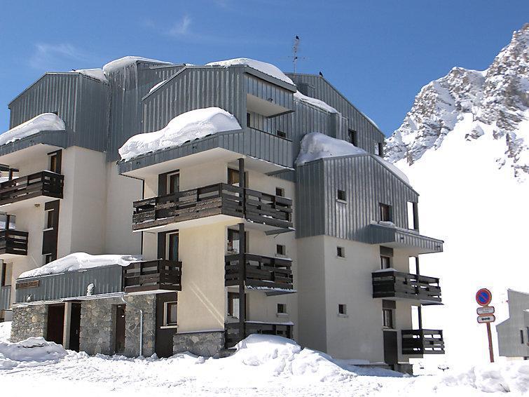 Holiday in mountain resort Plein Soleil - Tignes - Winter outside