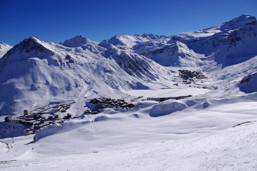Wakacje w górach Résidence 2100 B - Tignes - Zima na zewnątrz