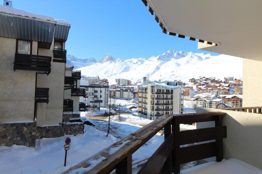 Wakacje w górach Apartament 2 pokojowy kabina 5 osób (B15P) - Résidence 2100 B - Tignes - Zima na zewnątrz
