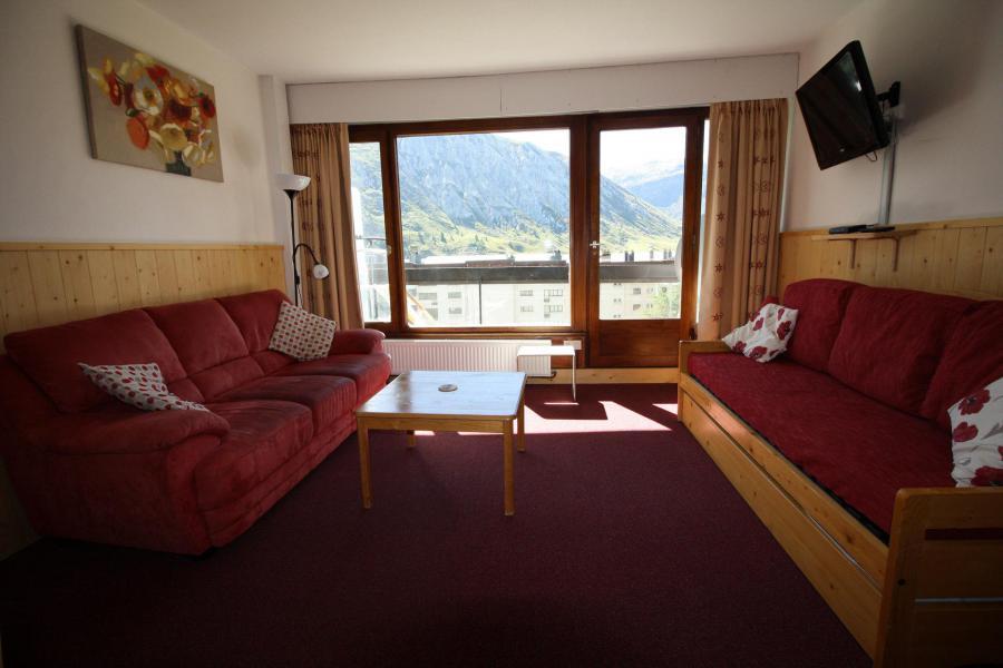 Skiverleih 2-Zimmer-Berghütte für 6 Personen (521CL) - Résidence Bec Rouge - Tignes - Wohnzimmer
