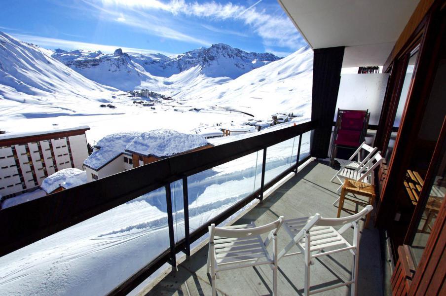 Wakacje w górach Apartament 4 pokojowy 10 osób (153CL) - Résidence Bec Rouge - Tignes - Zima na zewnątrz
