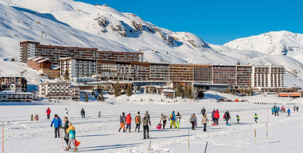 Wakacje w górach Résidence Bec Rouge - Tignes - Zima na zewnątrz