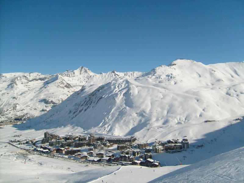 Skiverleih Résidence Chalet Club - Tignes - Draußen im Winter