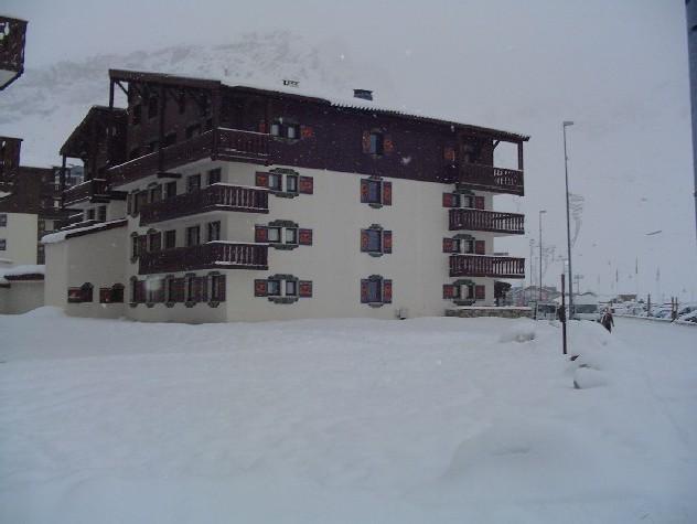 Location au ski Residence Chalet Club Iii - Tignes - Extérieur hiver