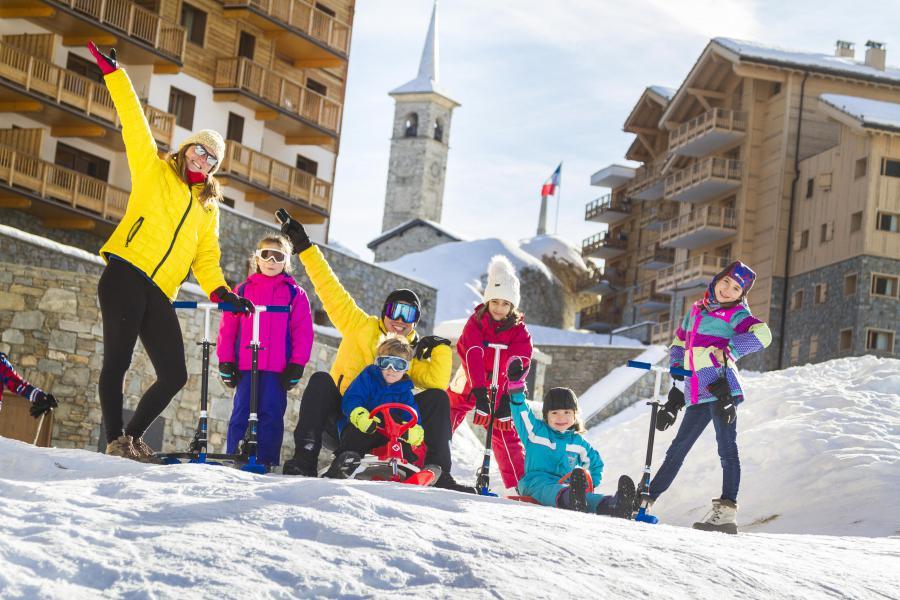 Skiverleih Résidence Club MMV L'Altaviva - Tignes - Draußen im Winter