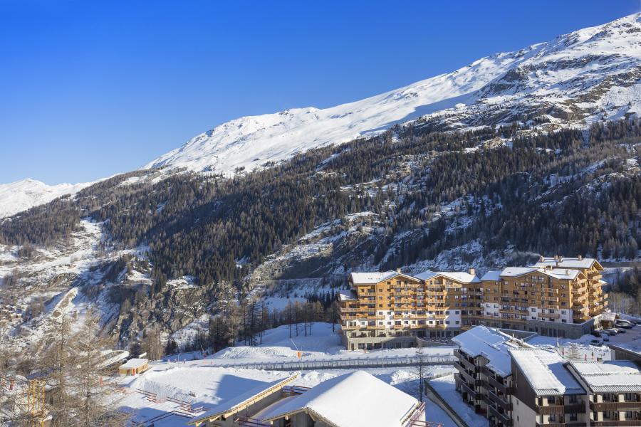 Location au ski Résidence Club MMV L'Altaviva - Tignes - Extérieur hiver