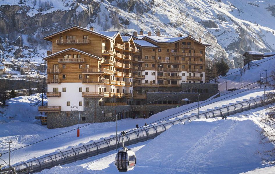 Soggiorno sugli sci Résidence Club MMV L'Altaviva - Tignes - Esteriore inverno