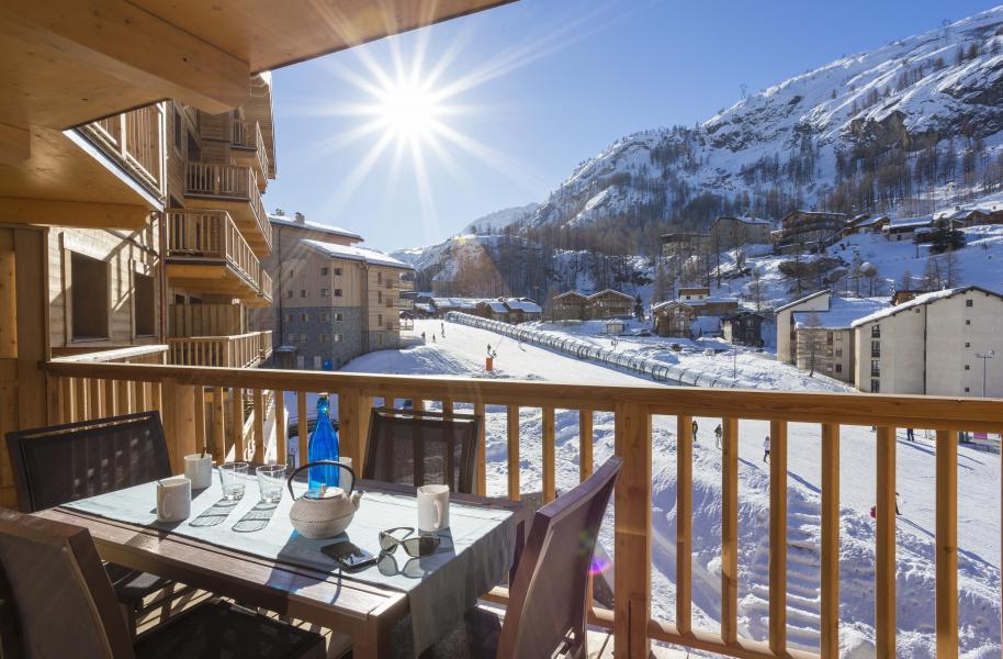 Rent in ski resort Résidence Club MMV L'Altaviva - Tignes - Balcony