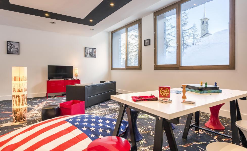 Location au ski Résidence Club MMV L'Altaviva - Tignes - Jeux