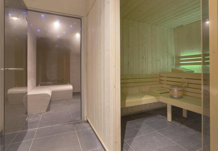 Location au ski Résidence Club MMV L'Altaviva - Tignes - Sauna