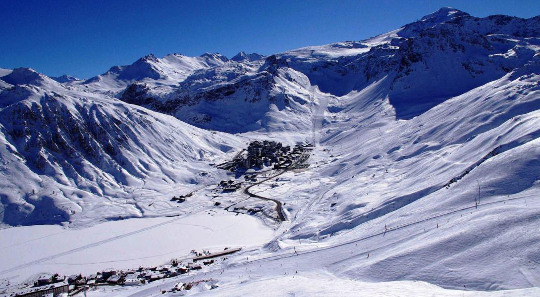 Location au ski Résidence Génépis - Tignes - Extérieur hiver