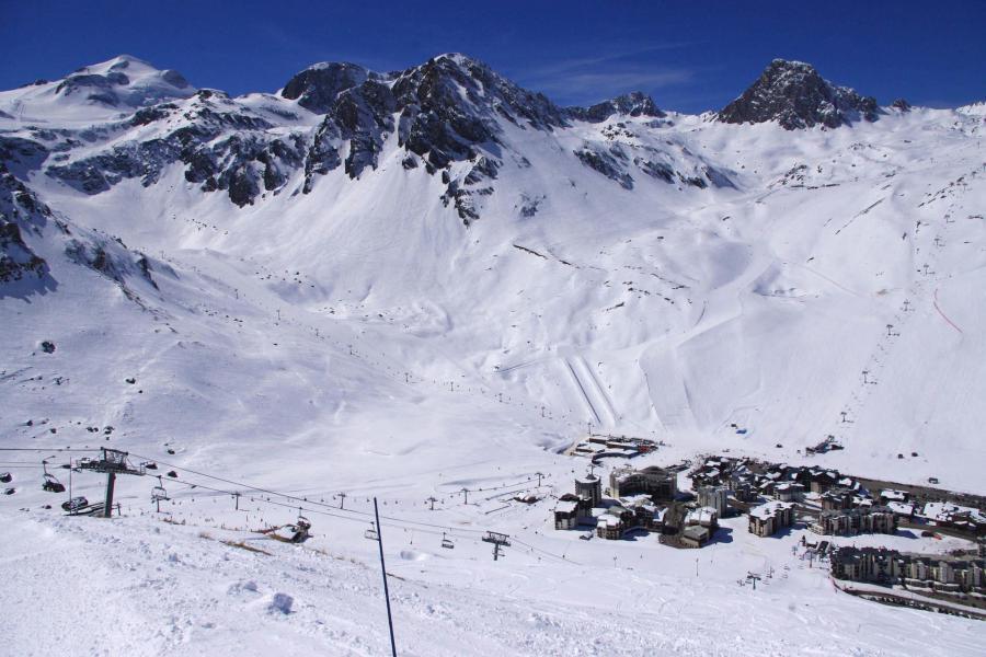 Wakacje w górach Résidence Hameau du Borsat - Tignes - Zima na zewnątrz