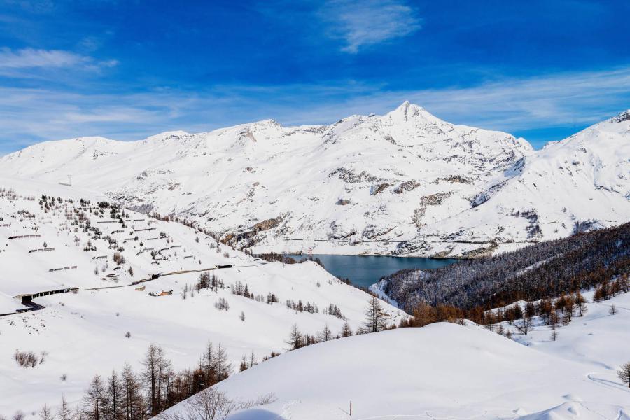 Wakacje w górach Studio z alkową 4 osoby (192CL) - Résidence Home Club 2 - Tignes - Zima na zewnątrz