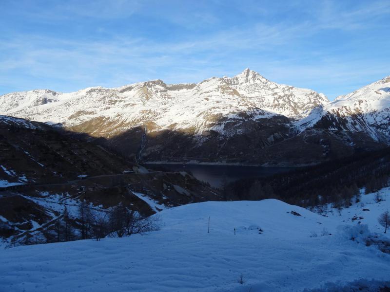 Location au ski Studio coin montagne 4 personnes (164) - Résidence Home Club - Tignes - Extérieur hiver